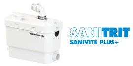 Pompa per acque chiare Sanitrit Sanivite Plus+