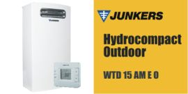 Scaldabagno Junkers Hydrocompact Outdoor WTD 15 AM E O