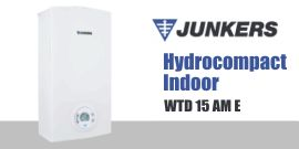Scaldabagno Junkers Hydrocompact Indoor WTD 15 AM E