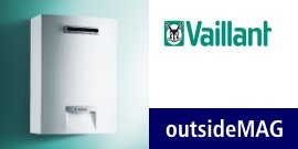 Scaldabagno Vaillant outsideMAG 128/1-5 RT Low Nox