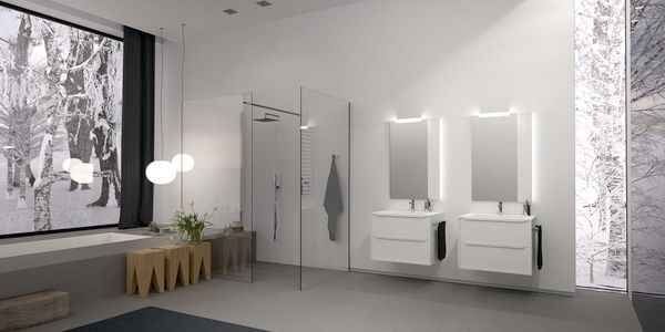 Arredo bagno mobili box e cabine doccia termoidraulica for Arredo bagno berloni