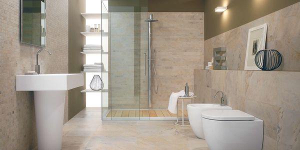 Bagno parquet e pietra - Bagno rivestimenti e pavimenti ...