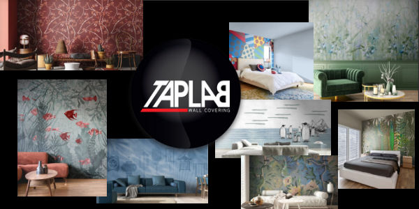 Taplab wall covering, carta da parati