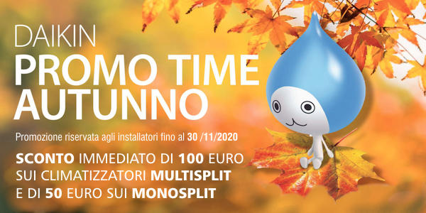 Daikin Promo Time Autunno 2020
