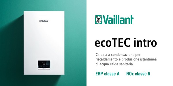 Caldaia Vaillant ecoTEC Intro VMW 18/24 AS/1-1