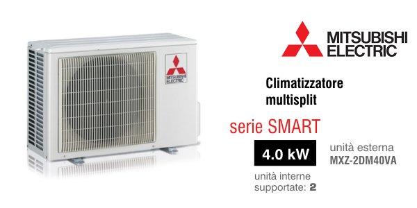climatizzatore mitsubishi electric unità esterna mxz-2dm40va