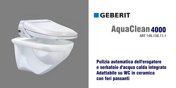 Vaso bidet geberit aquaclean 4000 in offerta for Geberit aquaclean prezzo
