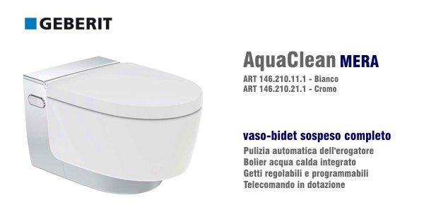vaso bidet geberit aquaclean mera comfort in offerta. Black Bedroom Furniture Sets. Home Design Ideas