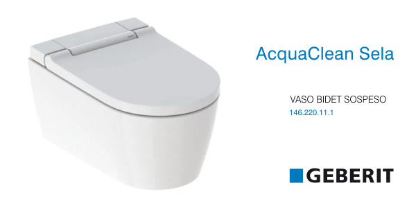 vaso bidet geberit aquaclean sela in offerta termoidraulica coico roma. Black Bedroom Furniture Sets. Home Design Ideas