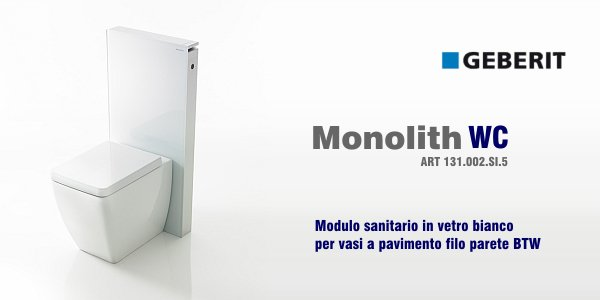 geberit monolith wc in offerta termoidraulica coico roma. Black Bedroom Furniture Sets. Home Design Ideas