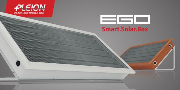 In offerta i sistemi solari Pleion Smart.Solar.Box EGO, pannelli solari all-in-one da 105 a 260 litri