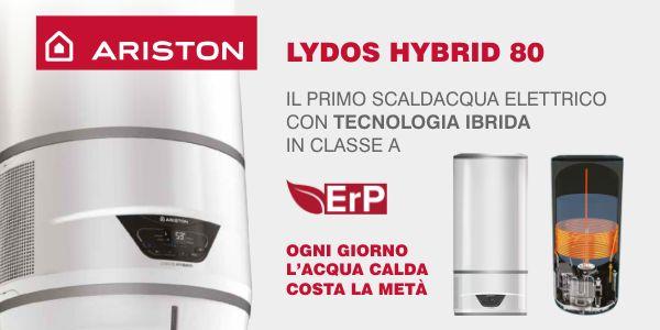 Scaldacqua Elettrico Ariston Lydos Hybrid 80 In Offerta   Termoidraulica  Coico Roma