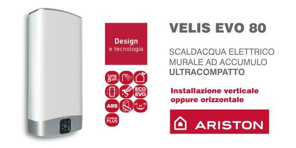 scaldacqua elettrico ariston velis evo 80 in offerta termoidraulica coico roma. Black Bedroom Furniture Sets. Home Design Ideas